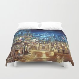 Diagon Alley Duvet Cover