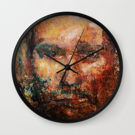 The Human Race 4 Wall Clock
