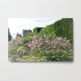 Château Rose Metal Print