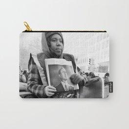 Newsgirl, 2013 Inauguration, Washington, DC. Carry-All Pouch