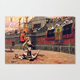 Thumbs Down - 1872 Canvas Print