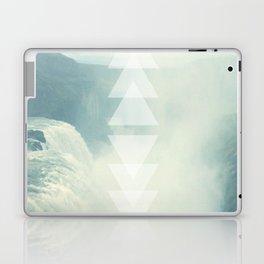 Geometric Waterfall (Western Sea) Laptop & iPad Skin