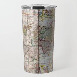 Old Times (World Map) 2 Travel Mug