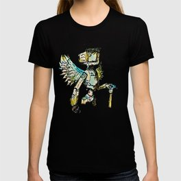 A black winged angel. T-shirt