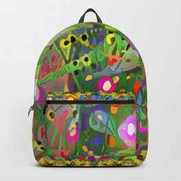 Fantasy Garden Lorikeets Backpack