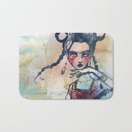 Frida is an Emotion by Jane Davenport Bath Mat