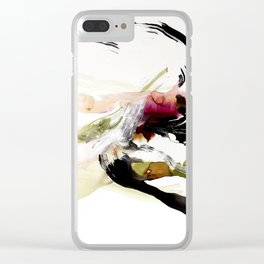 Day 12: To appreciate the imperfections that accompany beauty is the be close to nature. Clear iPhone Case