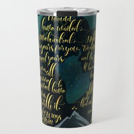 The wait was worth it. A Court of Wings and Ruin (ACOWAR). Travel Mug