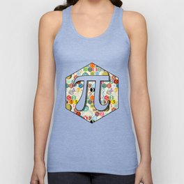 Math in color (little) Unisex Tank Top