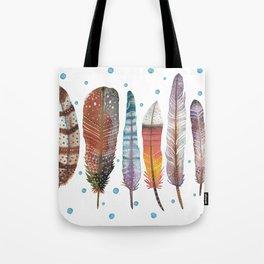 Feathers III Tote Bag