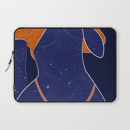 NEED SOME SPACE - Illustration, Space, Galaxy, Girl Laptop Sleeve