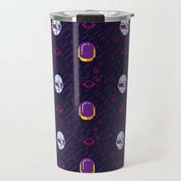 Daft Punk Pattern Travel Mug