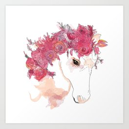 Star Stallion Art Print