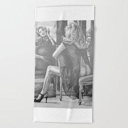 Kate Winslet 2 Beach Towel