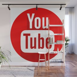 You Tube Wall Mural