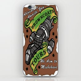 Browncoats Tours iPhone Skin