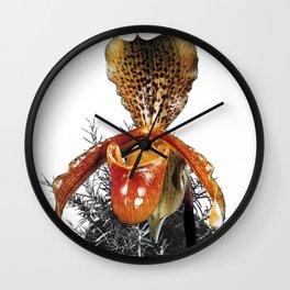 Rosemary Orchid Wall Clock