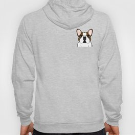 Frenchie - Fawn Pied Hoody