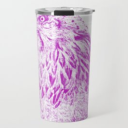 she's a beauty drawing, purple Travel Mug