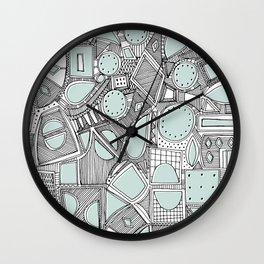 RAZZ BW ICE Wall Clock