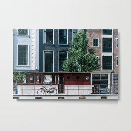 A Day in Amsterdam Metal Print