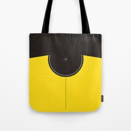 Yellow Jersey Bicycle Tote Bag