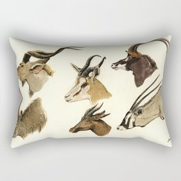 african antelopes Rectangular Pillow