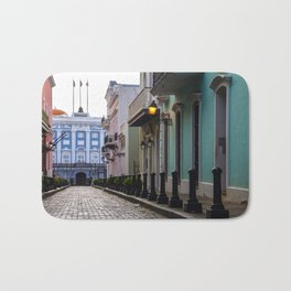 Old San Juan, Puerto Rico - Photo Bath Mat