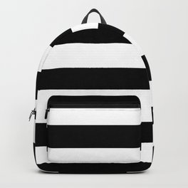 Simply Stripes in Midnight Black Backpack
