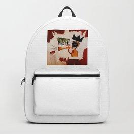 basquiat trumpet Backpack
