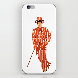 Lloyd Christmas iPhone Skin