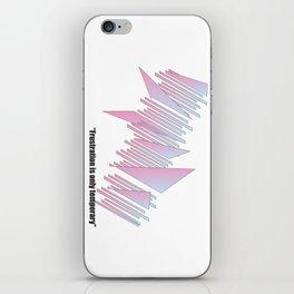 Frustration iPhone Skin