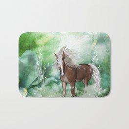 Beautiful horse Bath Mat