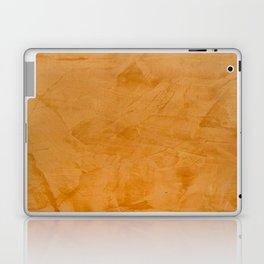 Dante Orange Stucco - Luxury - Rustic - Faux Finishes - Venetian Plaster Laptop & iPad Skin