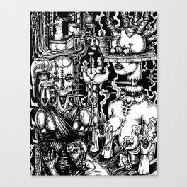 Restraint Canvas Print