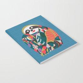 Nordic Sloth Notebook