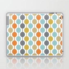 Retro Circles Mid Century Modern Background Laptop & iPad Skin