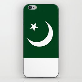 The National Flag of Pakistan - Authentic Version iPhone Skin