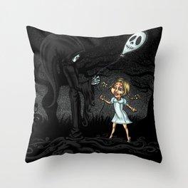 la morte e la bambina Throw Pillow