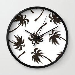 Coconuts Wall Clock