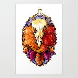 Autumn God Art Print