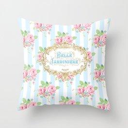 Belle Jardiniere Throw Pillow