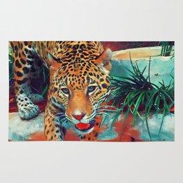 Jaguar in Motion Rug
