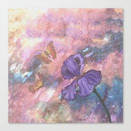 Pastel Monarchs Canvas Print