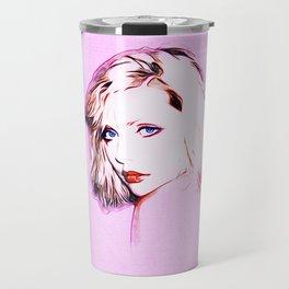 Debbie Harry - Blondie - Pop Art Travel Mug