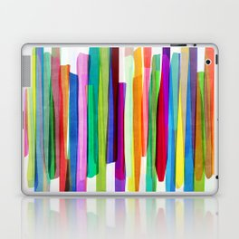 Colorful Stripes 1 Laptop & iPad Skin