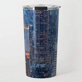 New York City Dusk Travel Mug