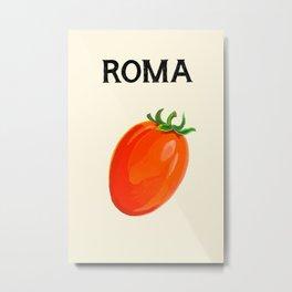 The Roma Tomato Metal Print