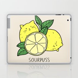 Sourpuss (colourised) Laptop & iPad Skin
