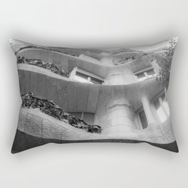 Curves and Ironwork Rectangular Pillow